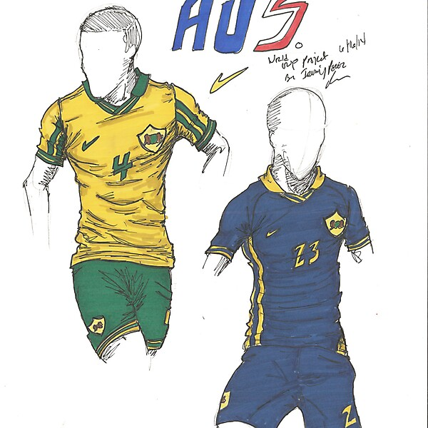 World Cup Project by Irvingperceni - Group B - Australia