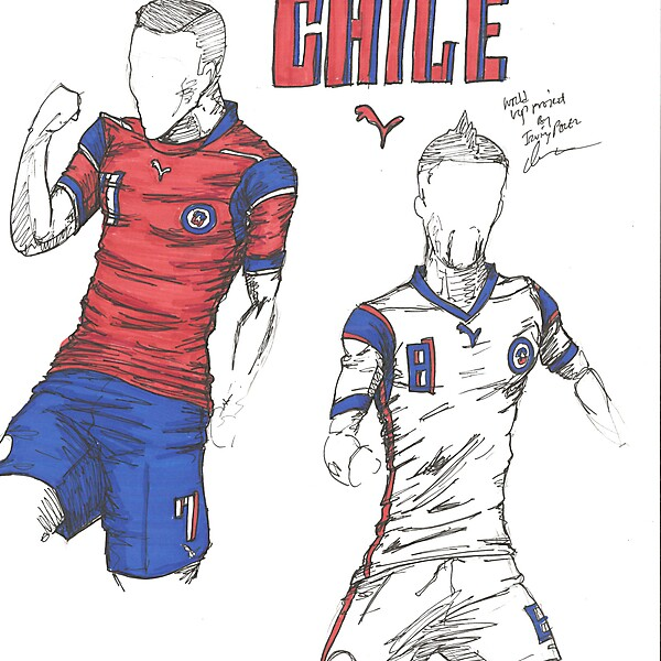 World Cup Project by Irvingperceni - Group B - Chile