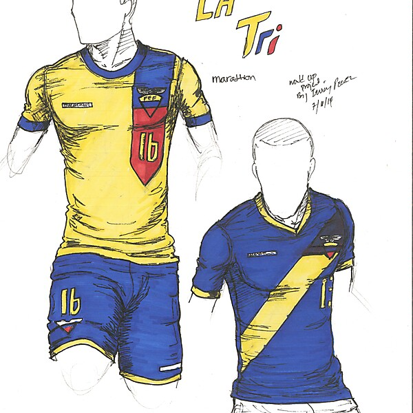 World Cup Project by Irvingperceni - Group E - Ecuador