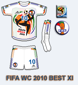 World Cup 2010 Best XI