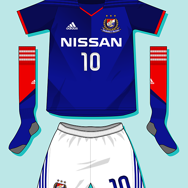 Yokohama Marinos Home Kit