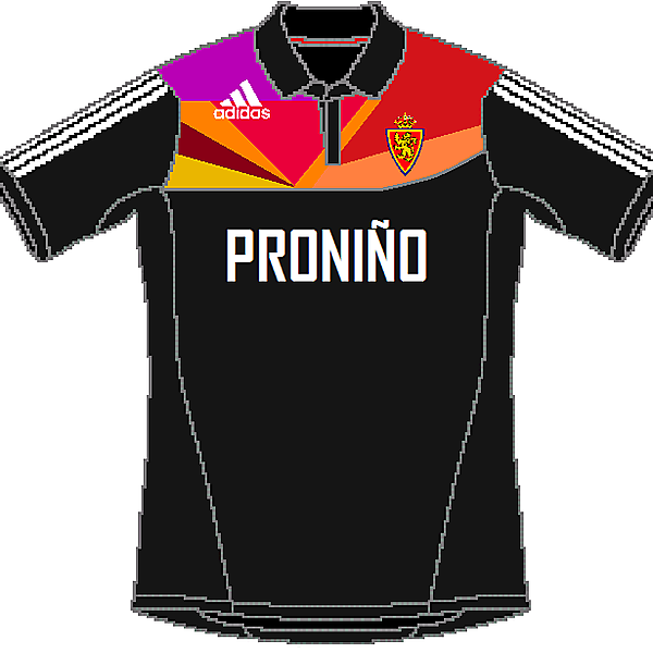 Real Zaragoza Adidas Away