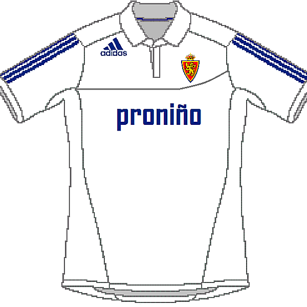 Real Zaragoza Adidas Home