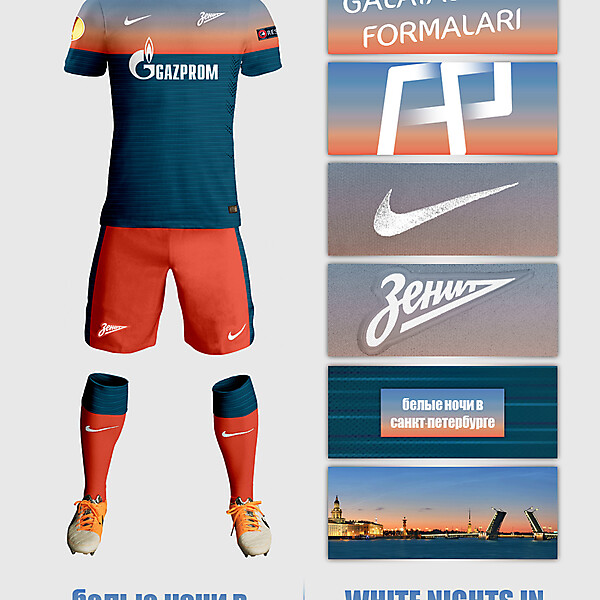 Zenit St.Petersburg Away