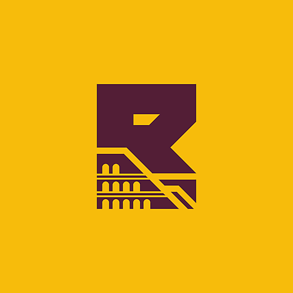 AS Roma alternative logo.