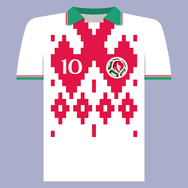 Belarus National Team Home Jersey Concept