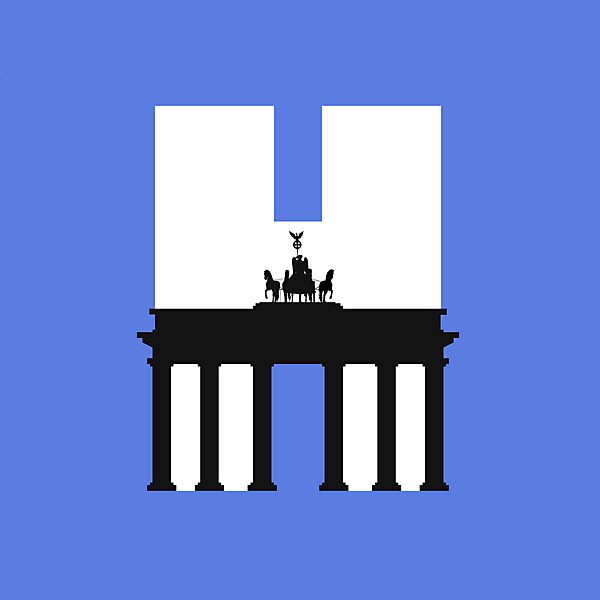 Hertha Berlin alternative logo.