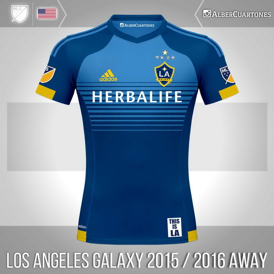 Los Angeles Galaxy 2015 / 2016 Away Shirt