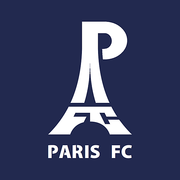 Paris FC alternative logo.