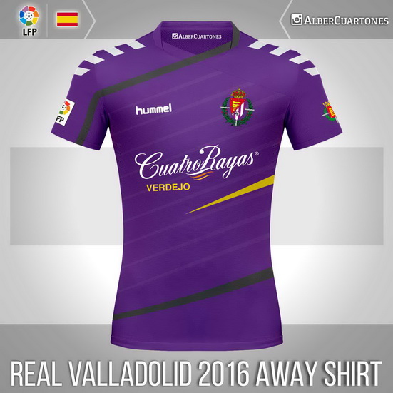 Real Valladolid 2015 / 2016 Away Shirt