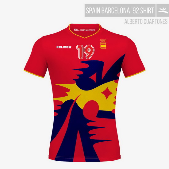 Spain Olympic Games Barcelona '92 Shirt