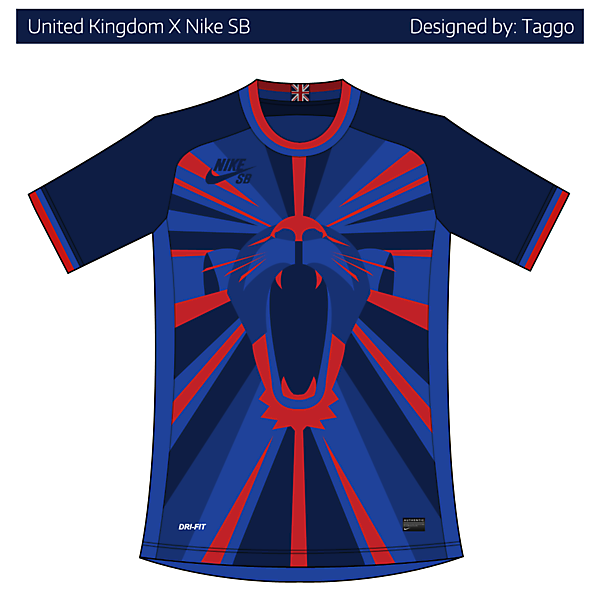United Kingdom X Nike SB home kit