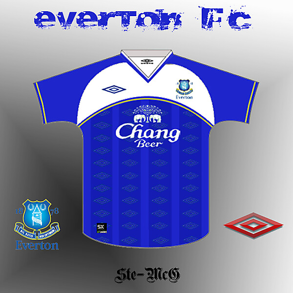 Everton Retro Re-Hash