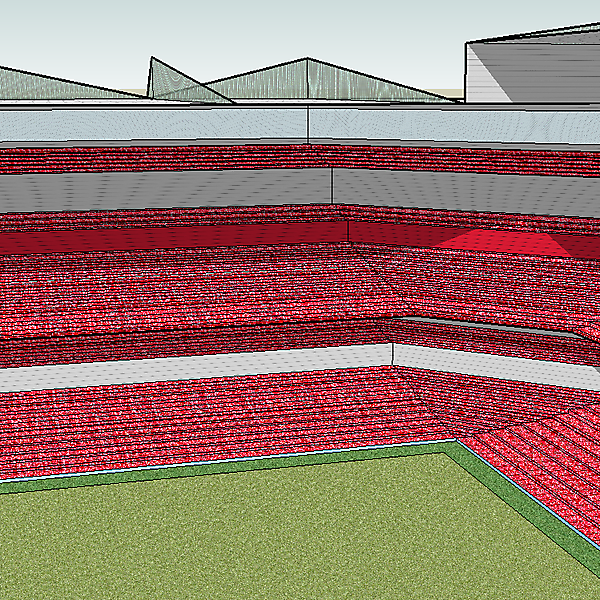 Football Stadium Design 1 (Angle 2)