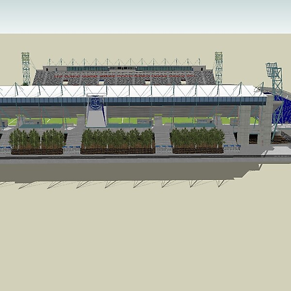 New Goodison Park Angle 4-Entrance