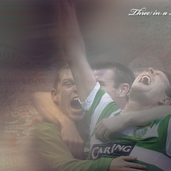 Celtic 3 in a row