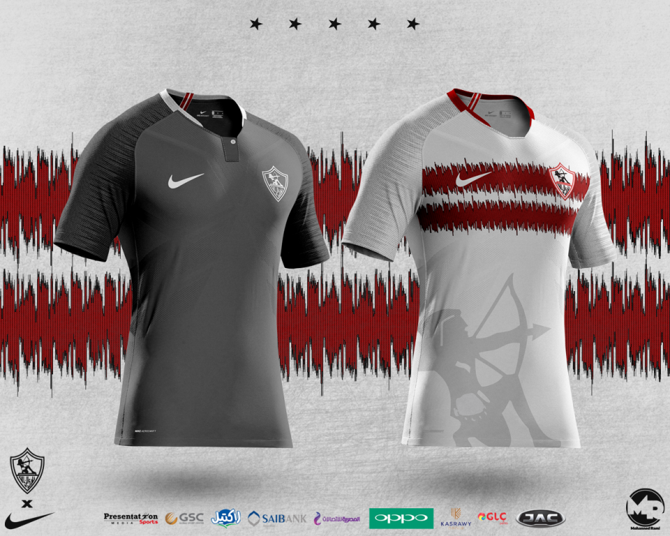 Old kit concepts for my favourite team #ZamalekSC  that I made nearly 2 years ago...#KOTW