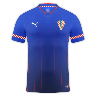 Croatia away