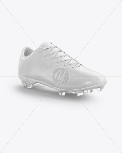 Football Boot Mockup - Half Side View