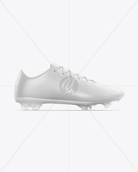 Football Boot Mockup - Side View