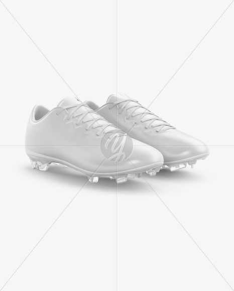 Football Boots Mockup - Half Side View