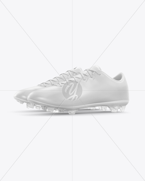 Football Boots Mockup - Side View