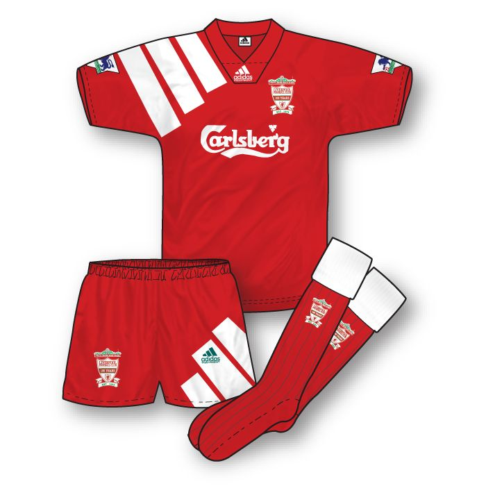 Liverpool 1992-93 Home Kit