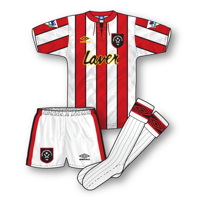 Sheffield United 1992-93 Home Kit