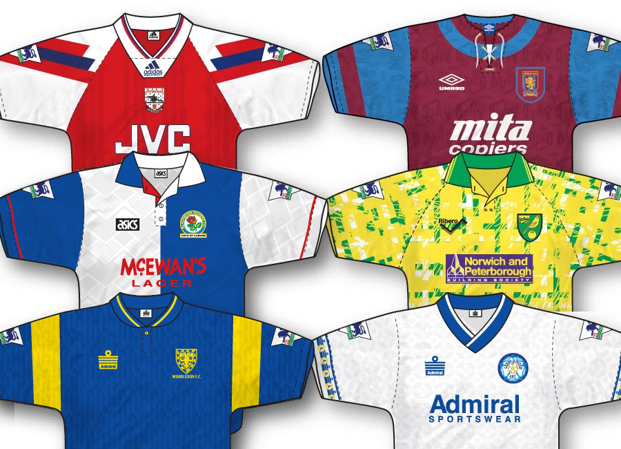 Premier League 1992-93 Home Kit Vote