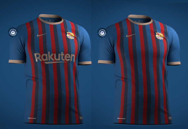FC Barcelona Barça 2022-2023 Nike Home Kit Prediction fayed