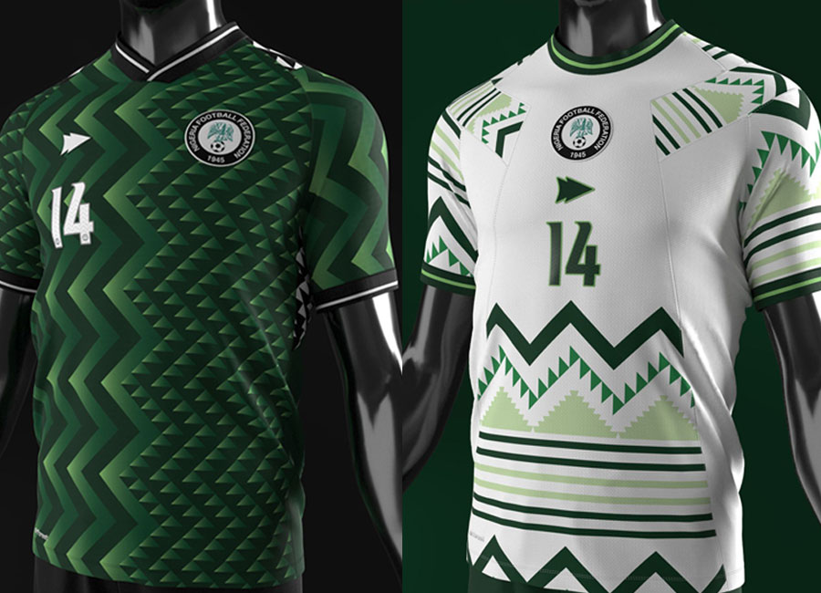 Nigeria Shirt Concepts by Pine