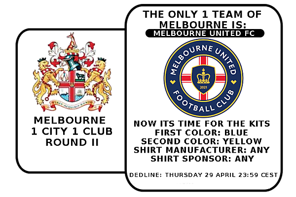 1 CITY 1 CLUB - MELBOURNE - PART II - KITS