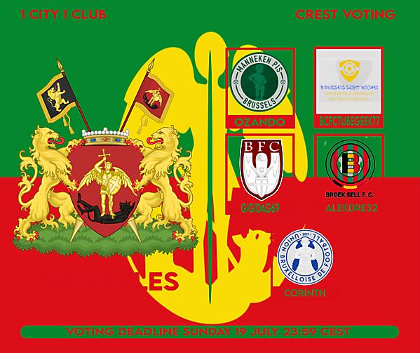 1 CITY 1 CLUB - BRUXELLES - VOTING