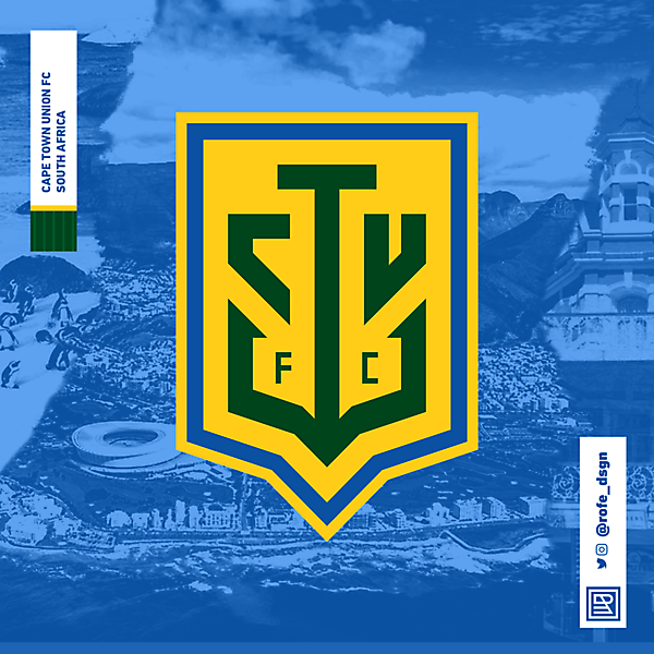 Cape Town Union Football Club | Branding By @rofe_dsgn