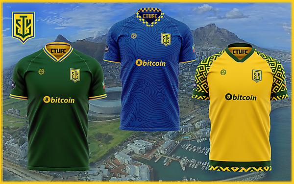 Cape Town Union Football Club Jerseys
