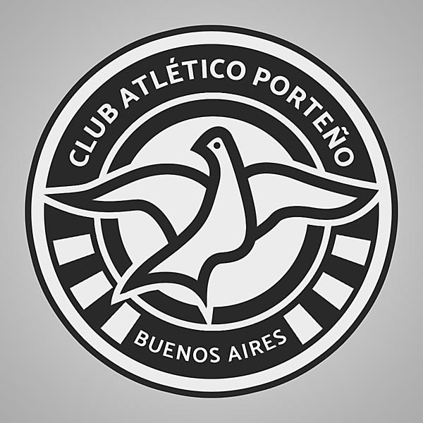 Club Atlético Porteño | Crest Design
