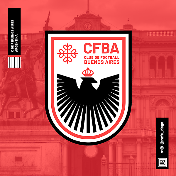 Club de Football Buenos Aires | Branding By @rofe_dsgn