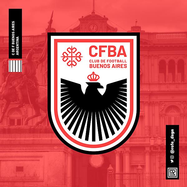 Club de Football Buenos Aires | Branding By @rofe_dsgn