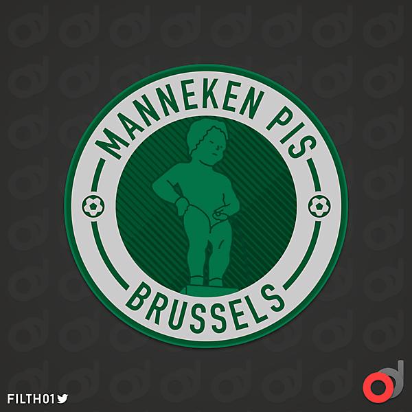 FC Manneken Pis | Crest