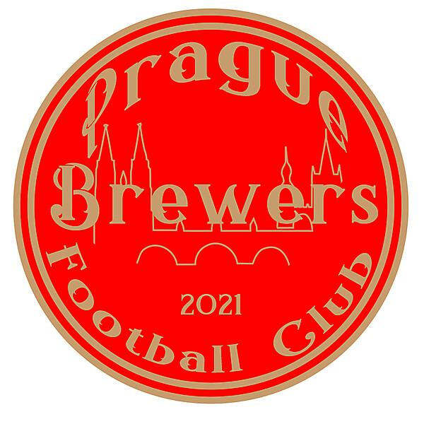 Prague Brewers FC-concept crest