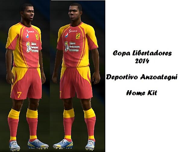 Deportivo Anzoategui Home Kit