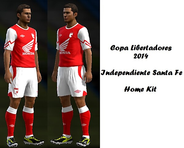 Independiente Santa Fe Home Kit