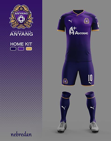 FC ANYANG - HOME KIT