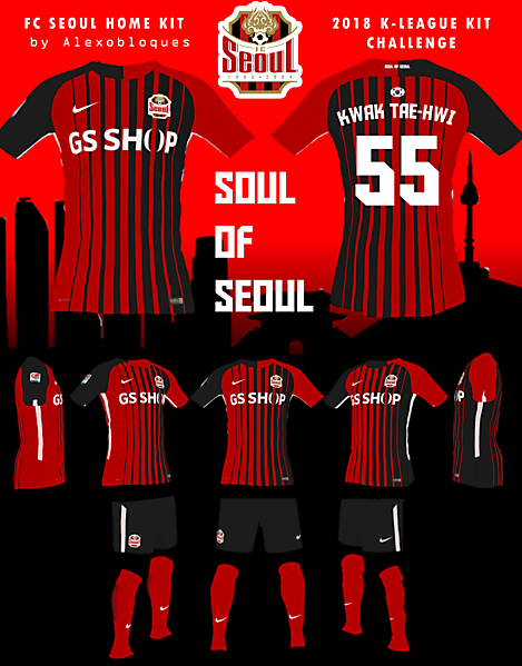 FC Seoul Home Kit - Soul of Seoul