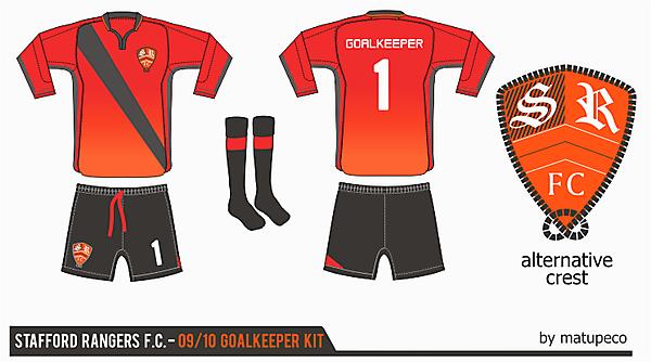 Stafford Rangers Goalkeeper Kit ver. 01