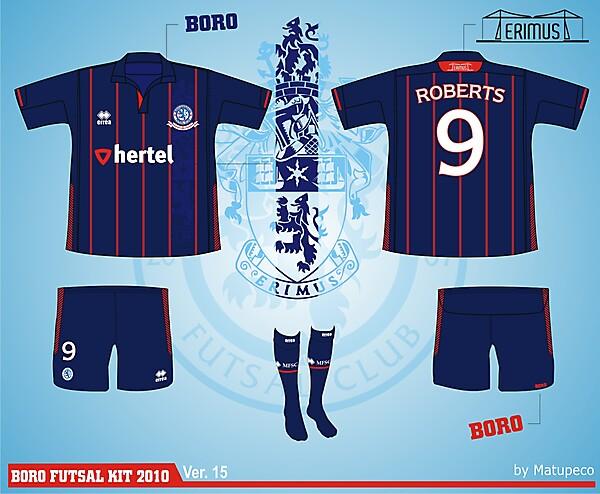Middlesbrough Futsal Club Kit - Version .15