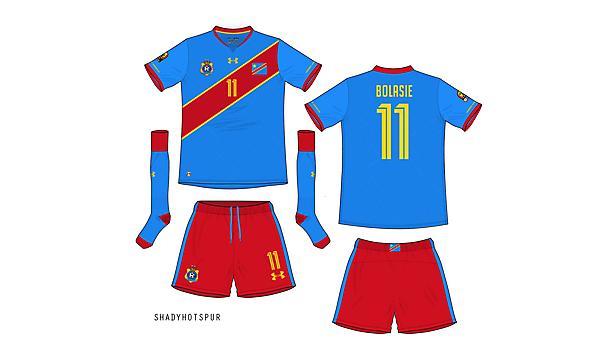 Democratic Republic of the Congo / home kit