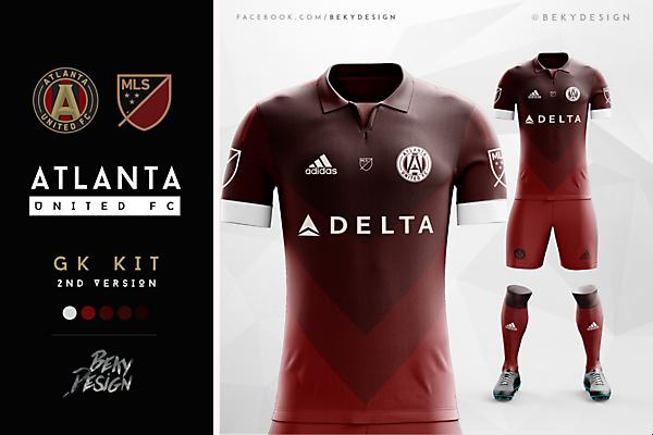 Atlanta United - GK V2 (Away)