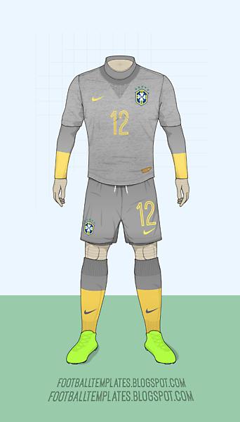 2015 Brasil Copa America Shirt + Template Feedback