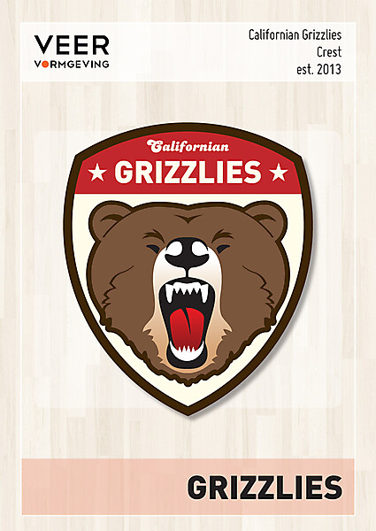 Californian Grizzlies Crest